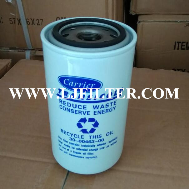 30-00463-00 300046300  Carrier oil filter element,Lijie Filters