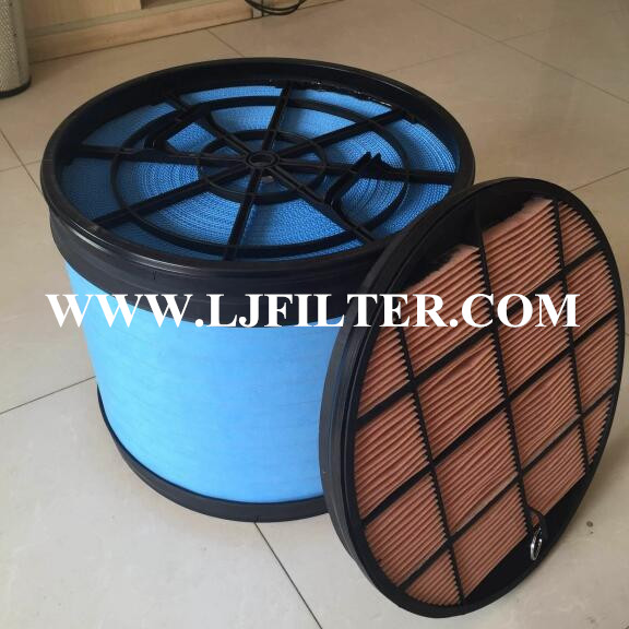 87727665,87443714,P631391,P631511,CNH/Donaldson air filter element from Lijie Filters