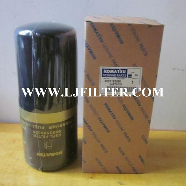 600-319-3550 600-319-3520 P553500 Komatsu Fuel Filter