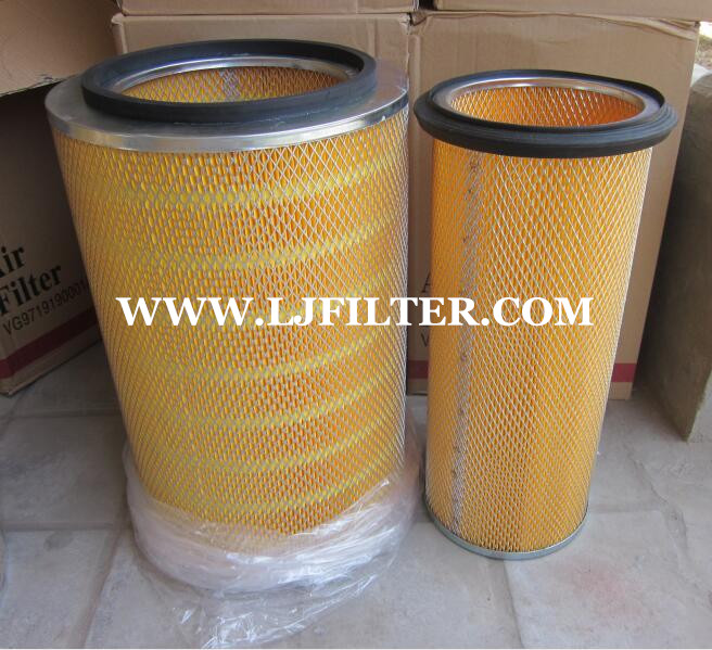 K3046 Sinotruck Howo Air Filter