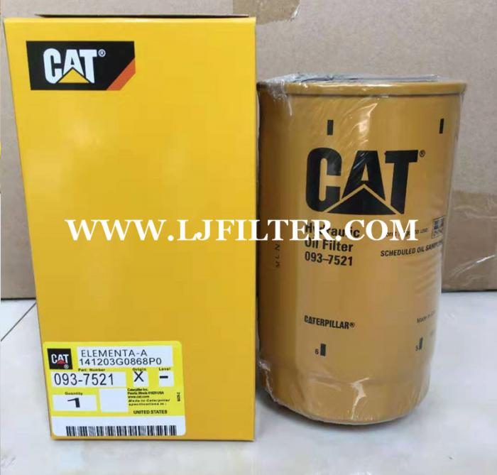 093-7521X,0937521X,caterpillar hydraulic oil filter