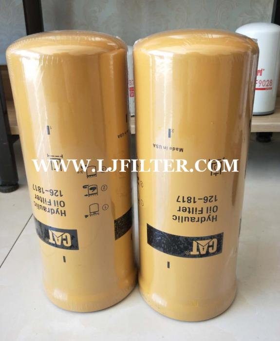 126-1817,1261817,caterpillar hydraulic oil filter